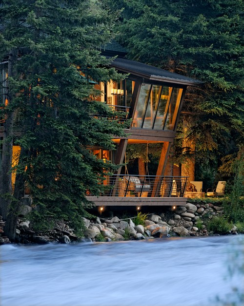 aspen river house by dj